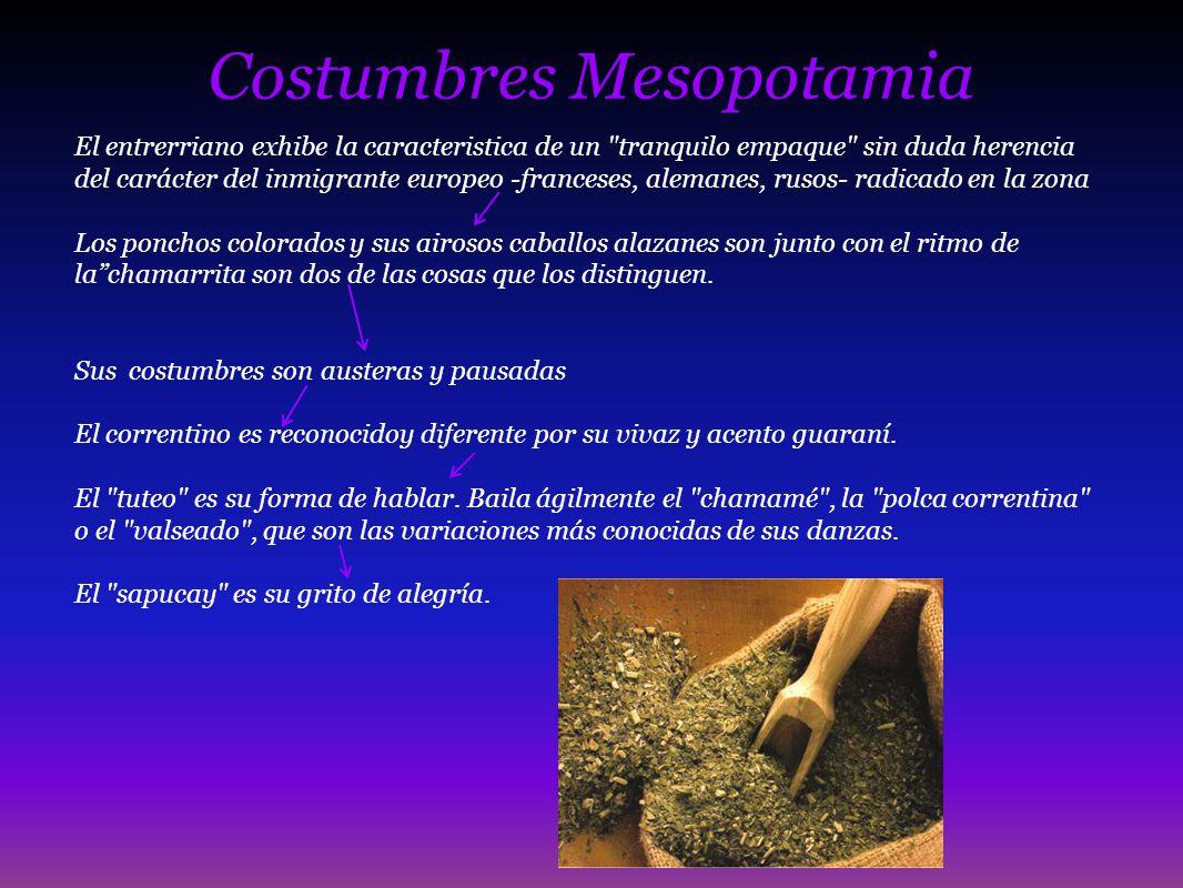 Costumbres Mesopotamia