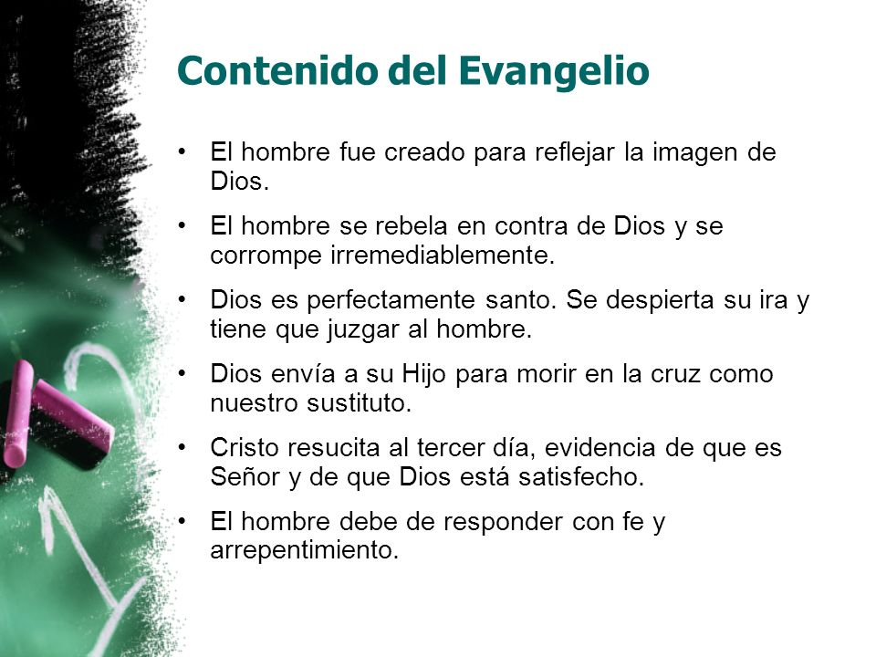 Contenido del Evangelio