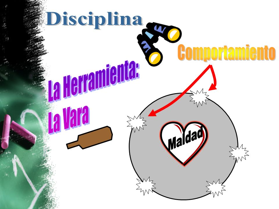 Disciplina Comportamiento La Herramienta: La Vara Maldad