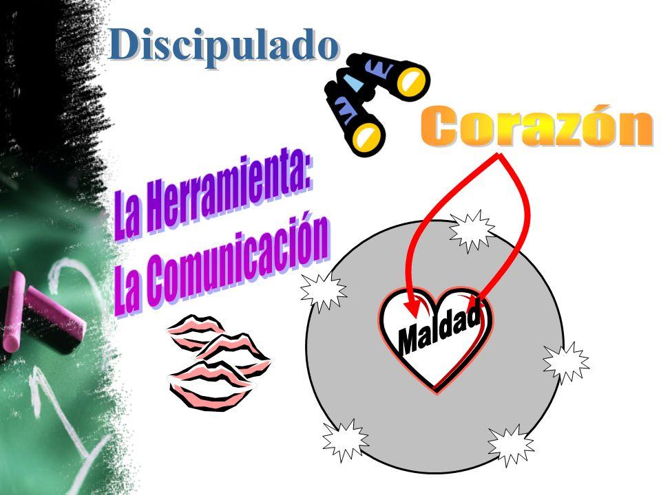 Discipulado Corazón La Herramienta: La Comunicación Maldad
