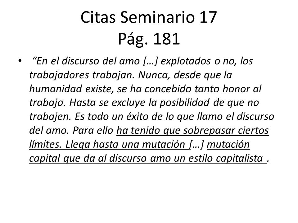 Citas Seminario 17 Pág. 181