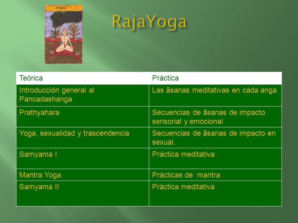RajaYoga Teórica Práctica Introducción general al Pancadashanga