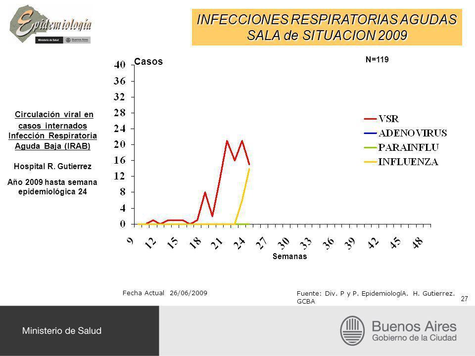 Año 2009 hasta semana epidemiológica 24