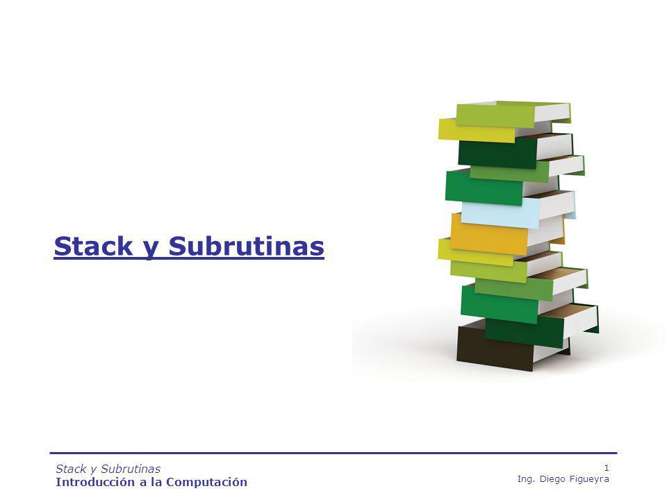 Stack y Subrutinas