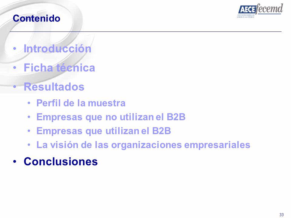 Introducción Ficha técnica Resultados Conclusiones Contenido