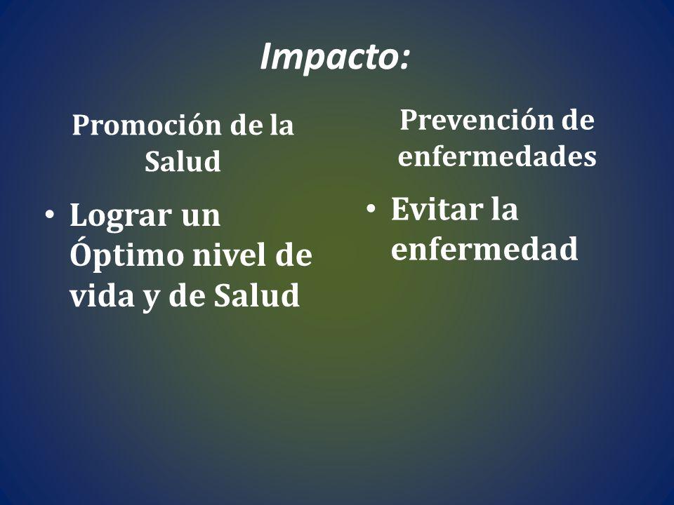 Prevención de enfermedades
