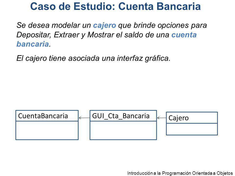 Caso de Estudio: Cuenta Bancaria