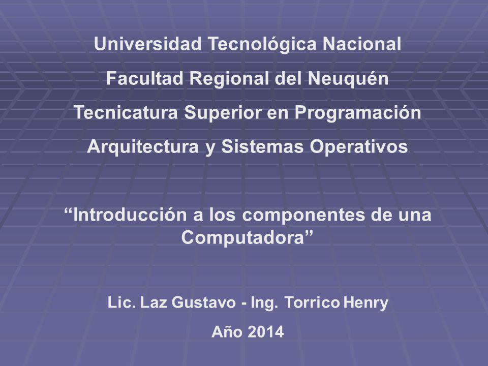 Universidad Tecnológica Nacional Facultad Regional del Neuquén