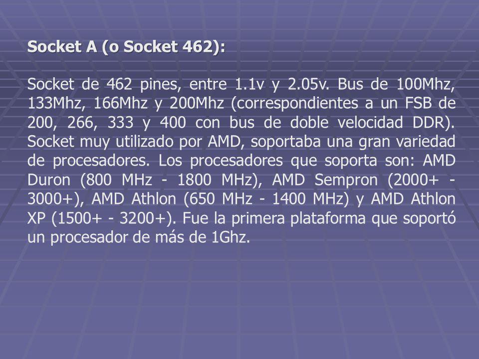 Socket A (o Socket 462):