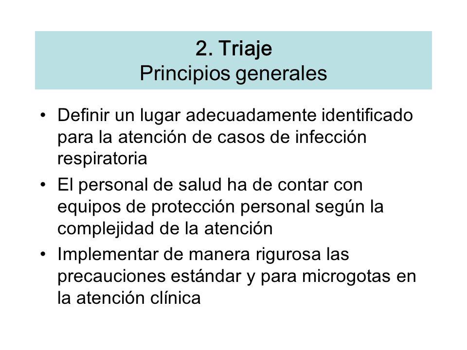 2. Triaje Principios generales