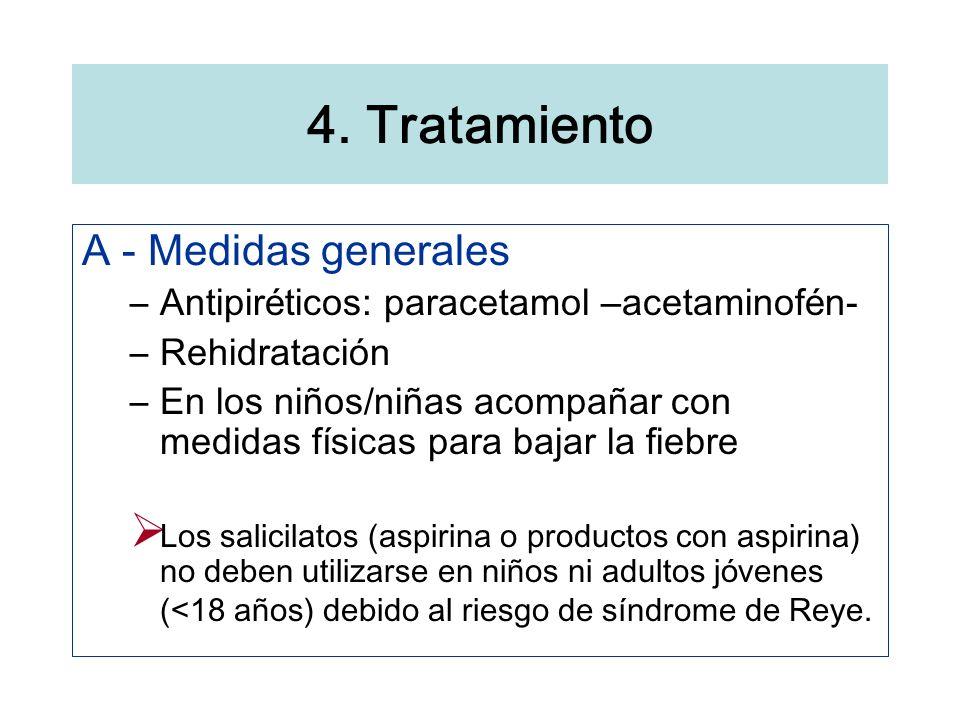 4. Tratamiento A - Medidas generales