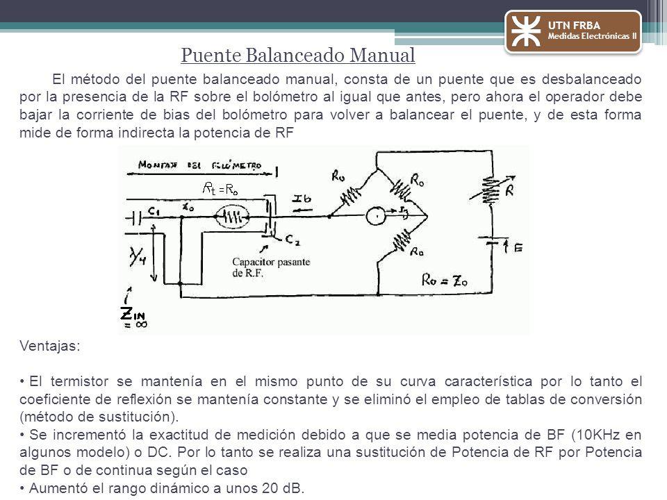 Puente Balanceado Manual