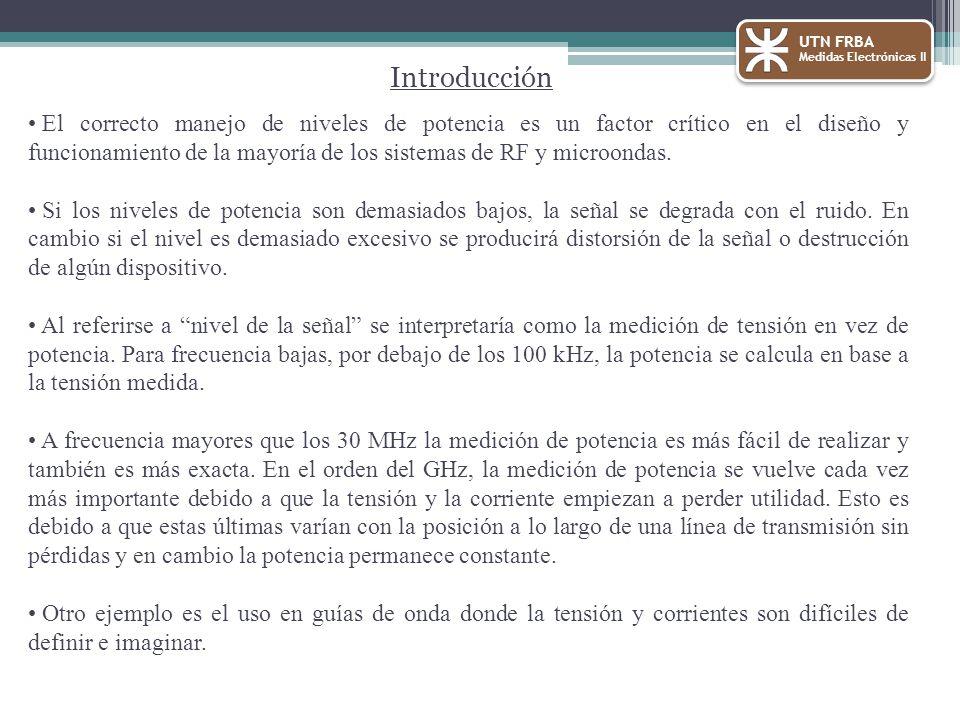 UTN FRBA Medidas Electrónicas II. Introducción.
