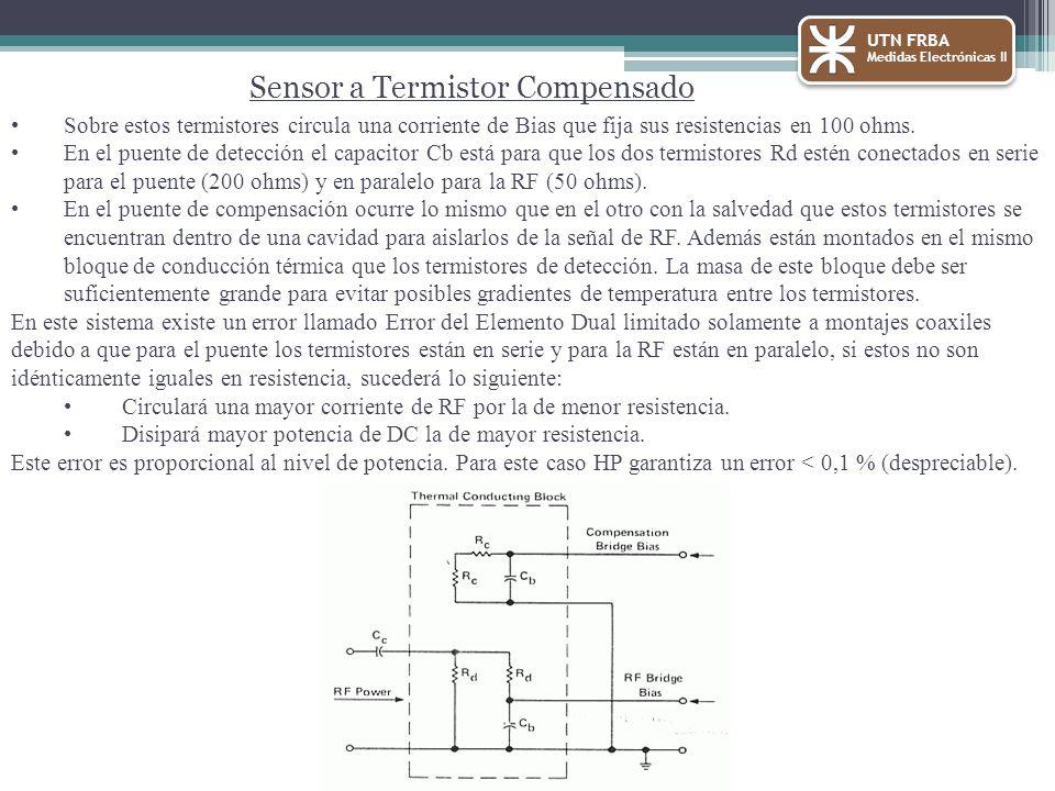 Sensor a Termistor Compensado