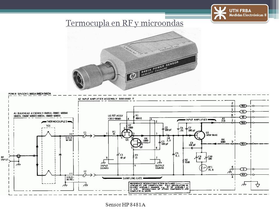Termocupla en RF y microondas