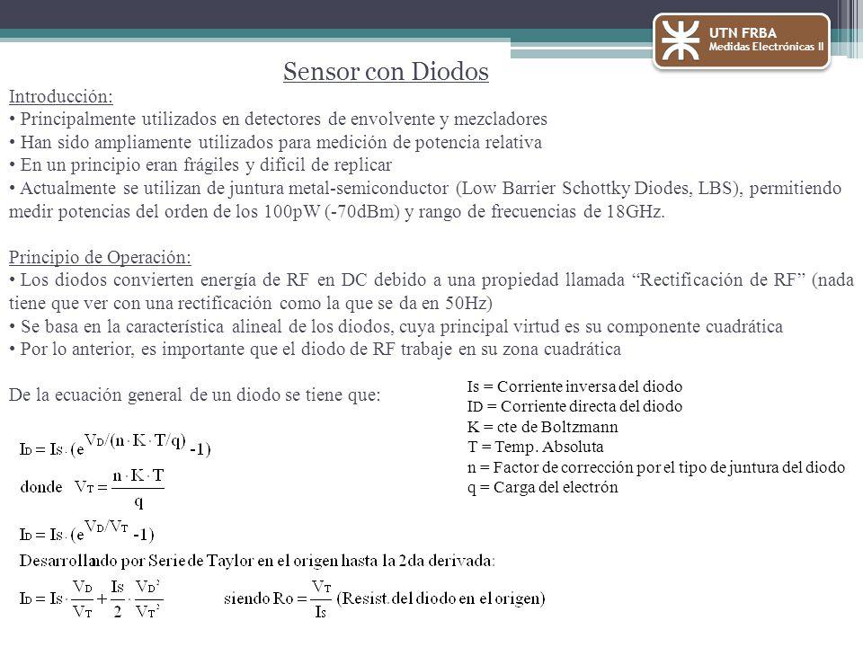 Sensor con Diodos Introducción: