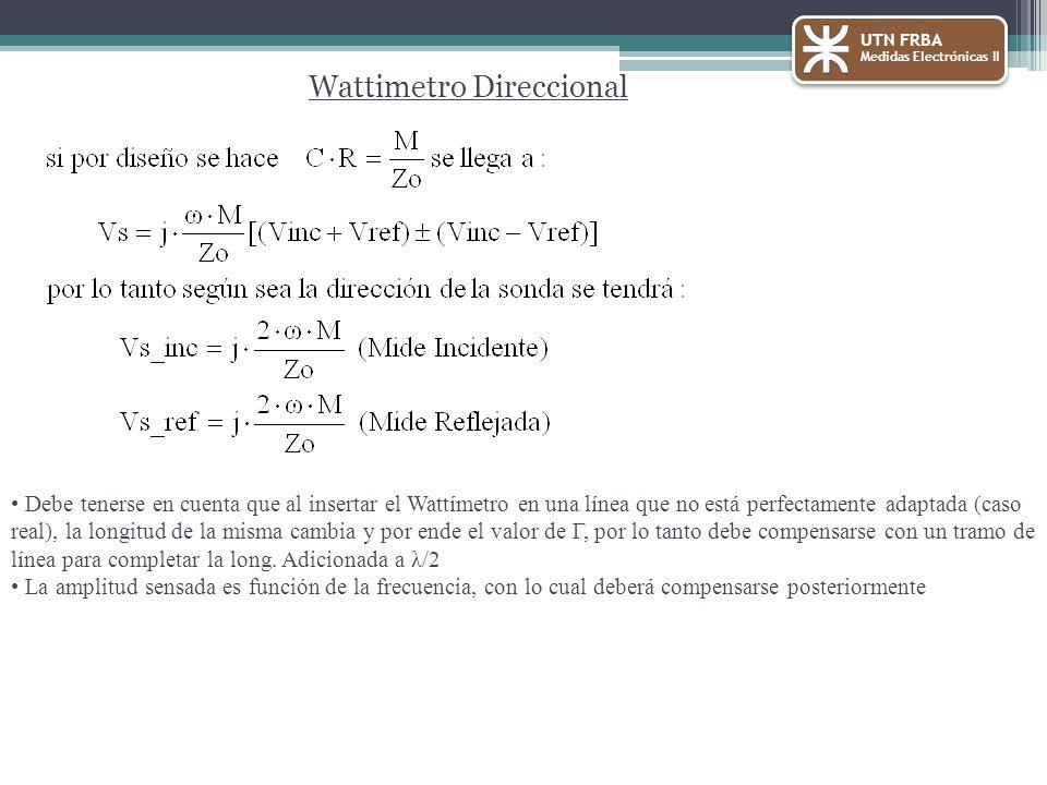Wattimetro Direccional
