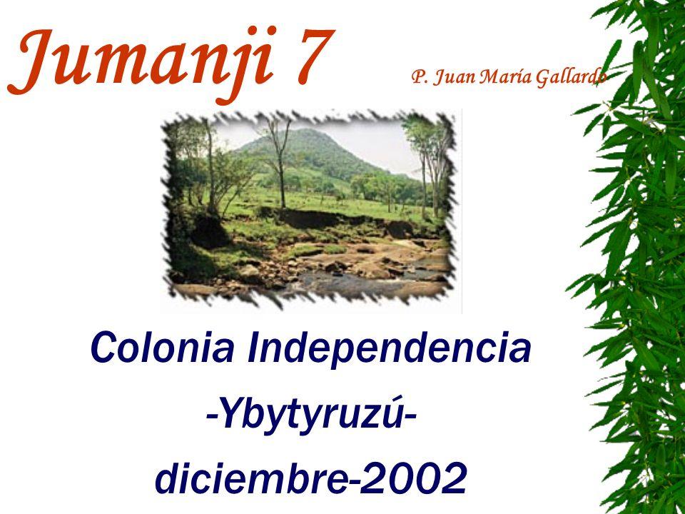 Jumanji 7 P. Juan María Gallardo