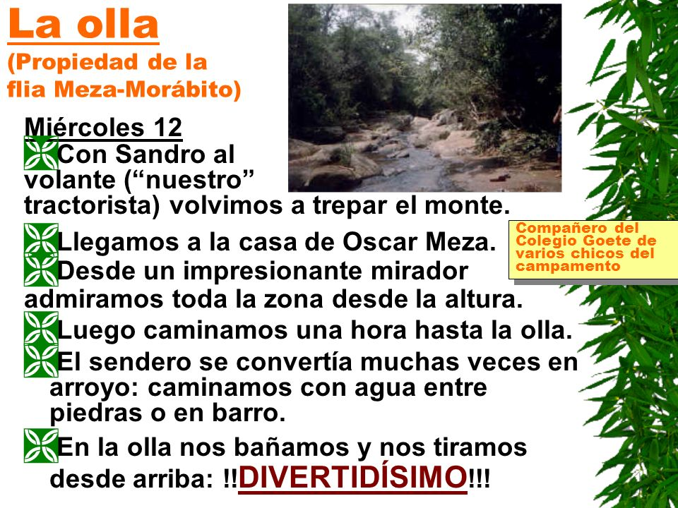 La olla (Propiedad de la flia Meza-Morábito)
