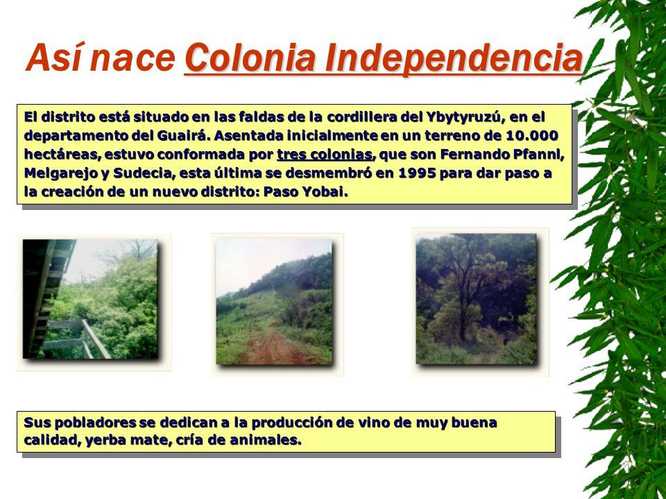 Así nace Colonia Independencia