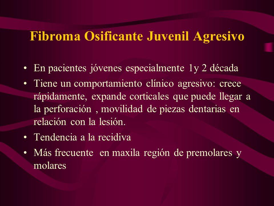 Fibroma Osificante Juvenil Agresivo