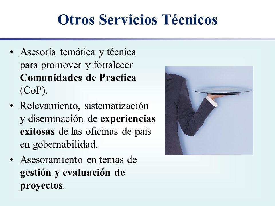 Otros Servicios Técnicos