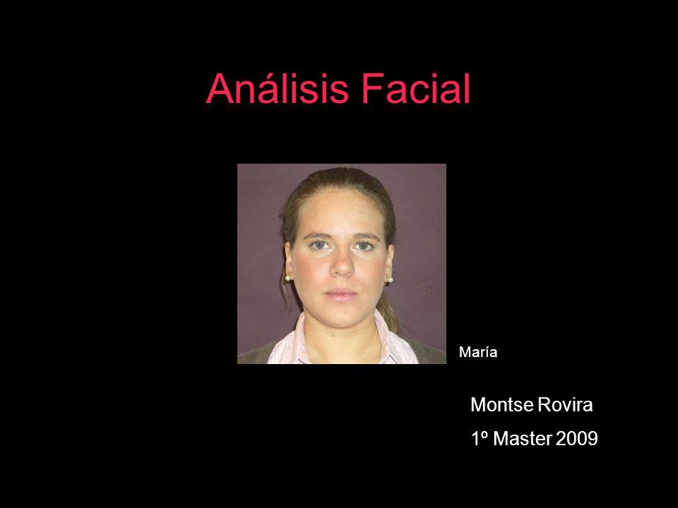 Análisis Facial María Montse Rovira 1º Master 2009