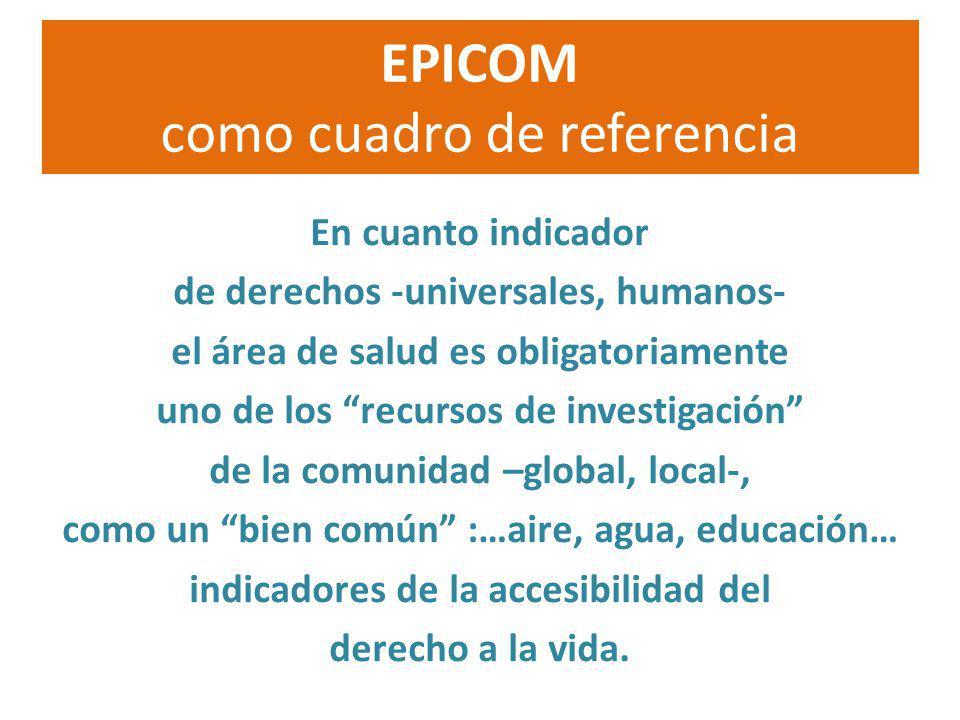 EPICOM como cuadro de referencia
