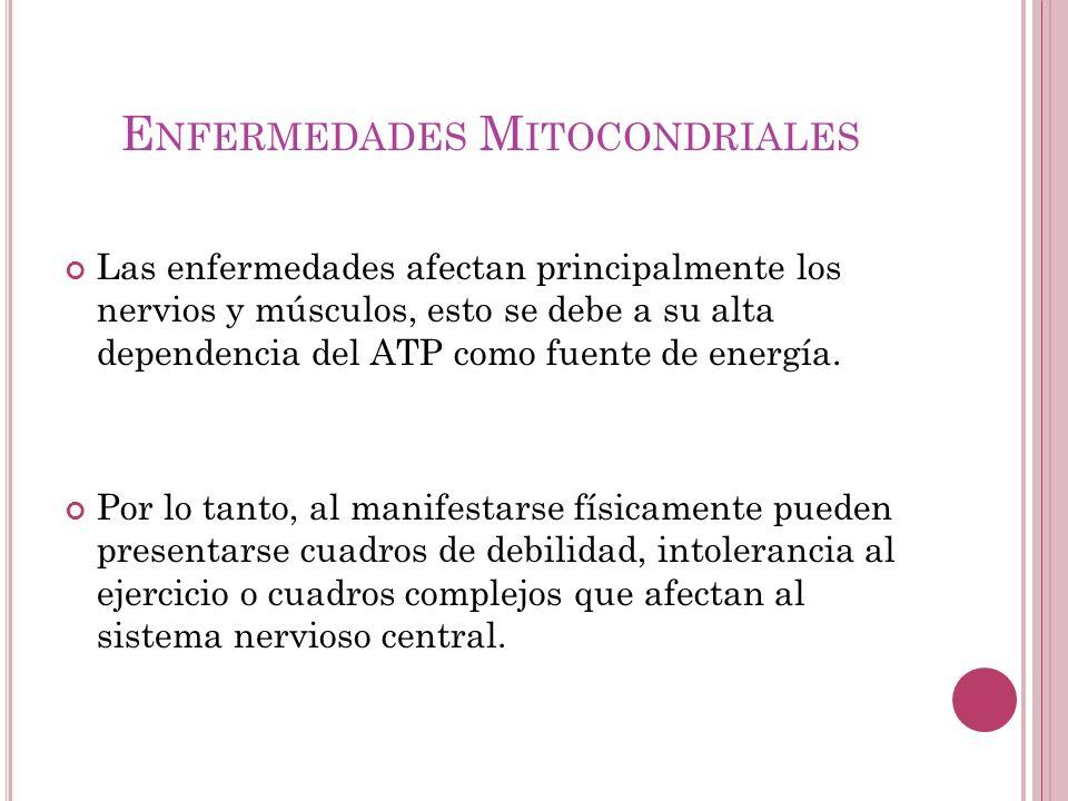 Enfermedades Mitocondriales