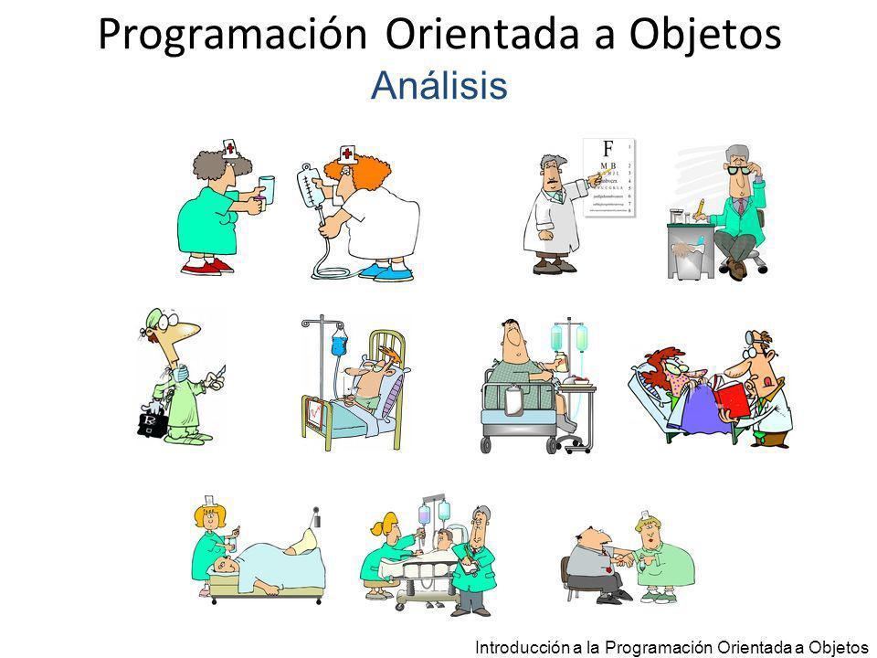 Programación Orientada a Objetos Análisis