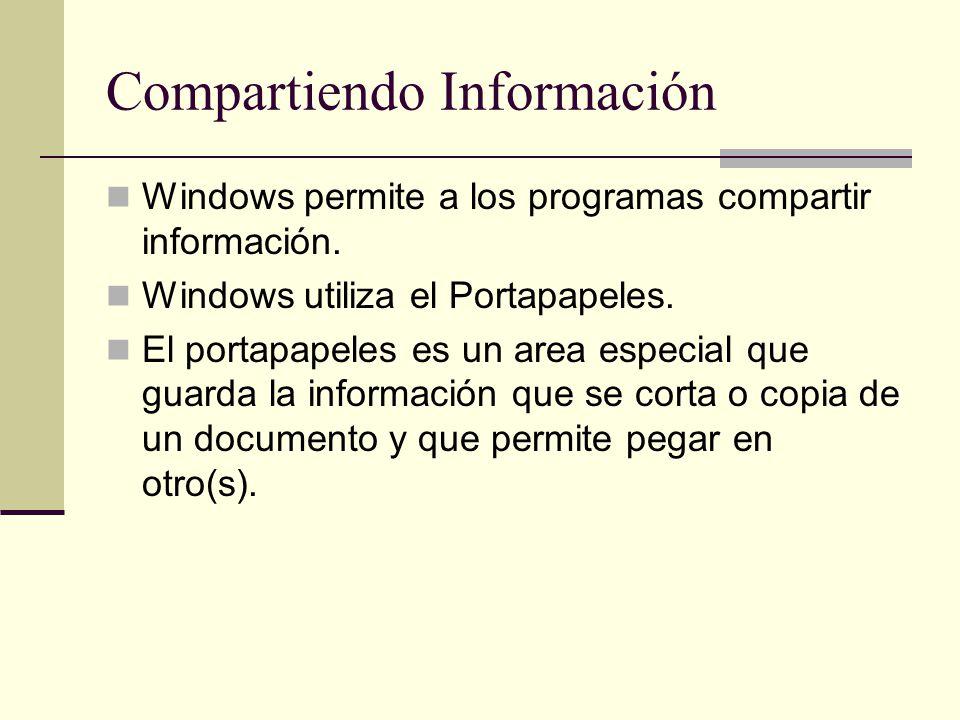 Compartiendo Información