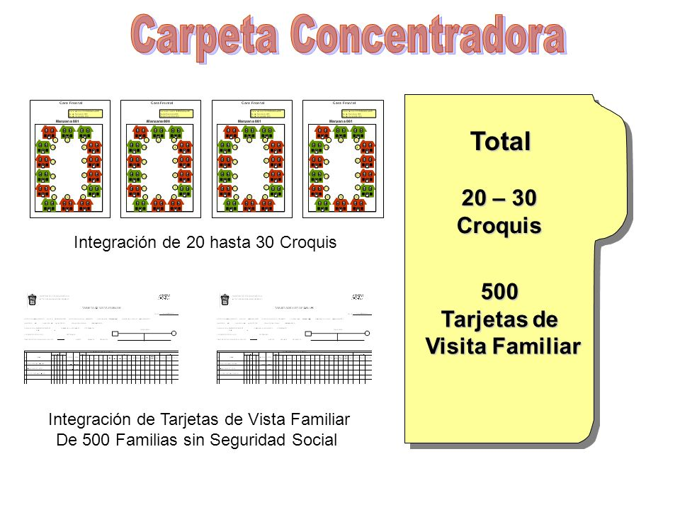 Carpeta Concentradora