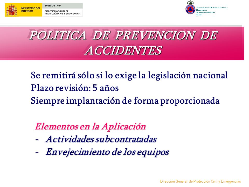 POLITICA DE PREVENCION DE ACCIDENTES