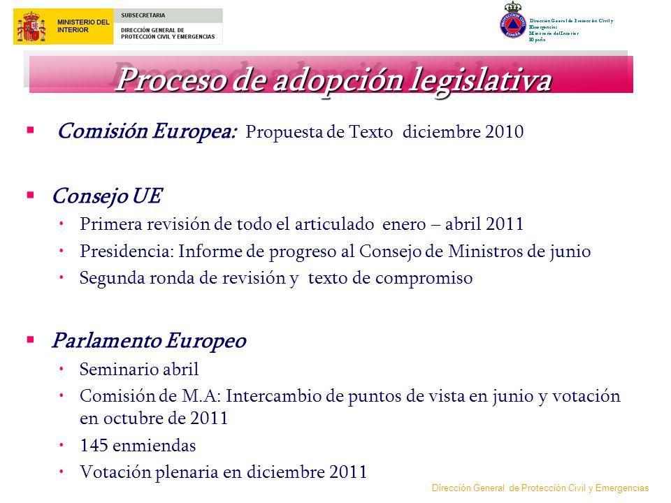 Proceso de adopción legislativa