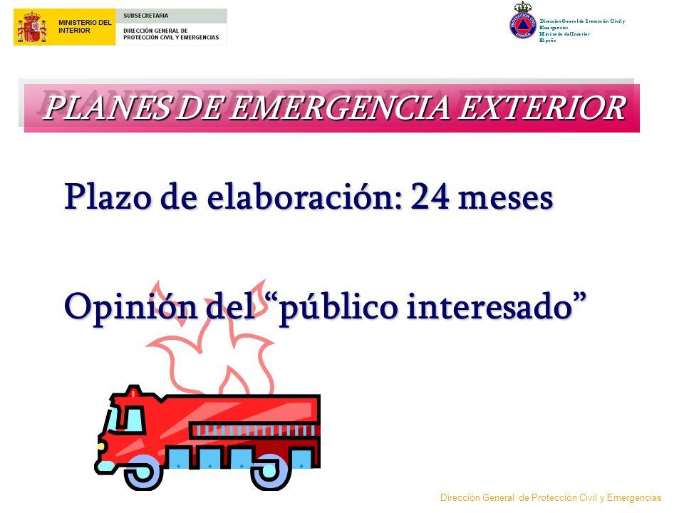 PLANES DE EMERGENCIA EXTERIOR