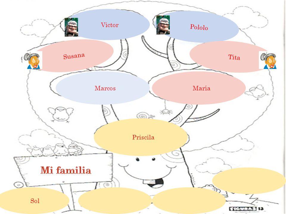 Victor Pololo Susana Tita María Marcos Priscila Mi familia Sol
