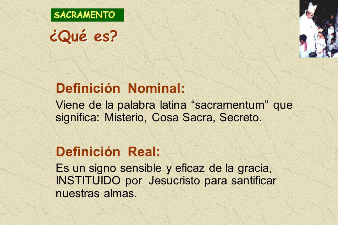 ¿Qué es Definición Nominal: Definición Real: