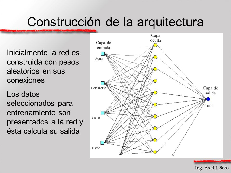 Construcción de la arquitectura