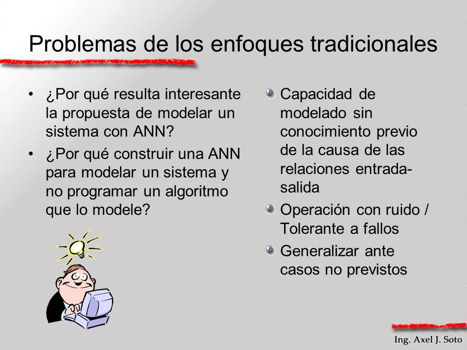 Problemas de los enfoques tradicionales