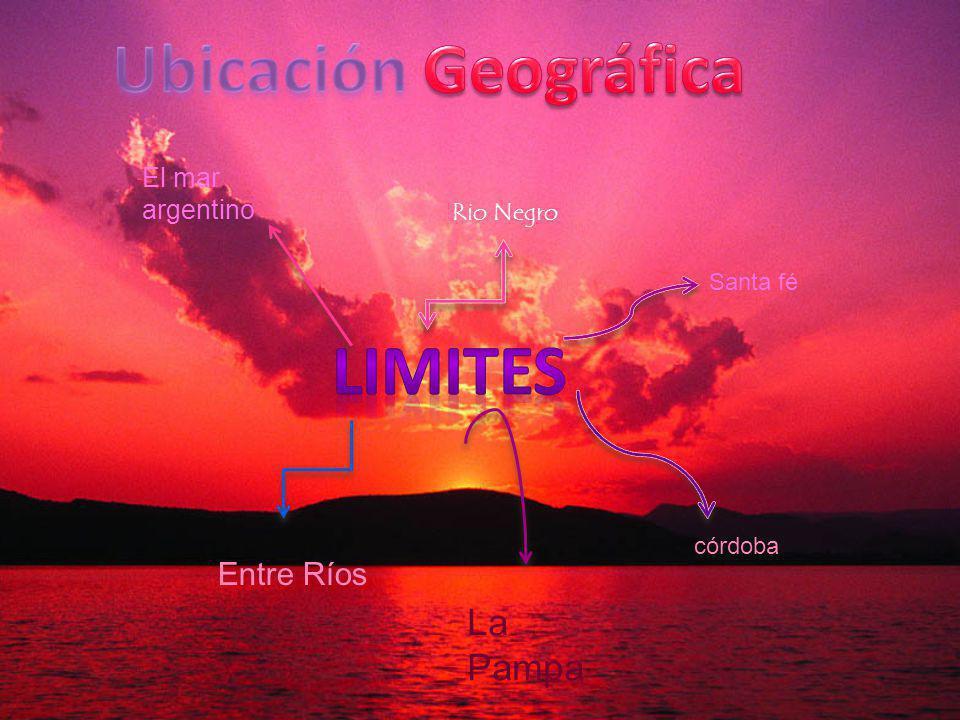 Ubicación Geográfica limites