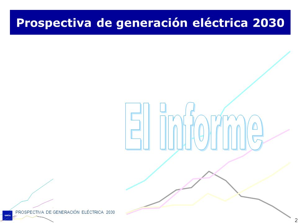 Prospectiva de generación eléctrica 2030