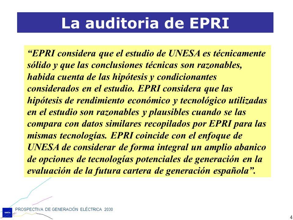 La auditoria de EPRI