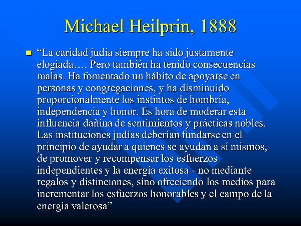 Michael Heilprin, 1888