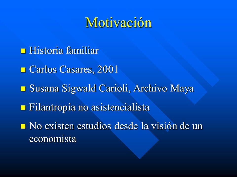 Motivación Historia familiar Carlos Casares, 2001