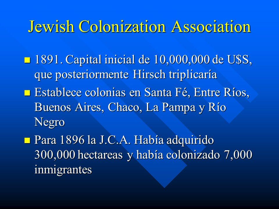 Jewish Colonization Association