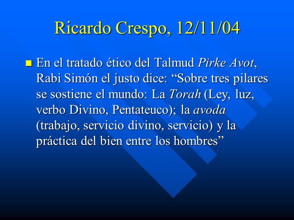 Ricardo Crespo, 12/11/04
