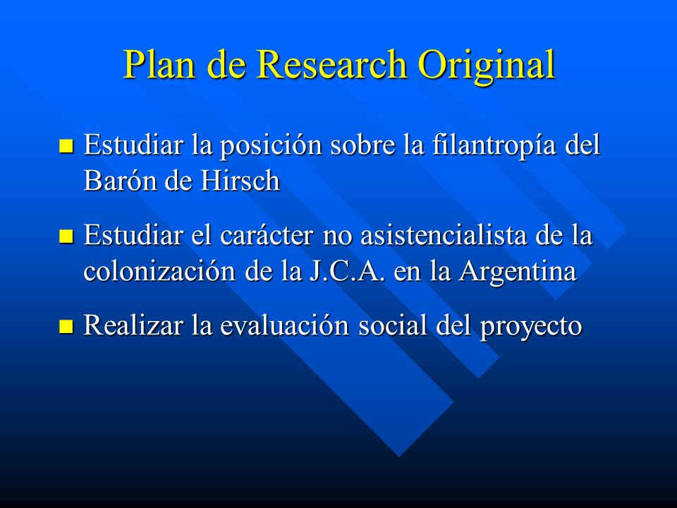 Plan de Research Original