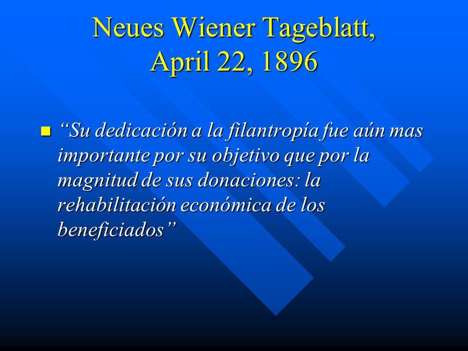 Neues Wiener Tageblatt, April 22, 1896
