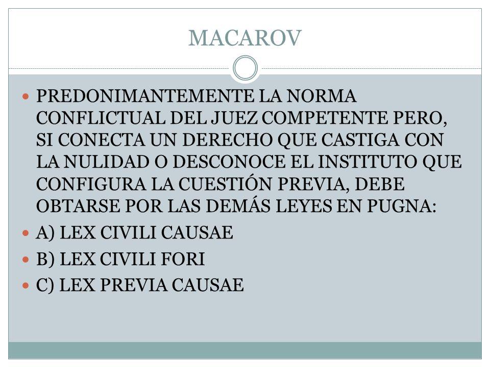 MACAROV
