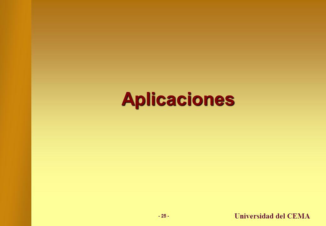 Aplicaciones Universidad del CEMA